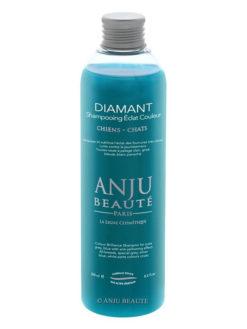 Flacone di shampoo Diamant per manti silver e blue