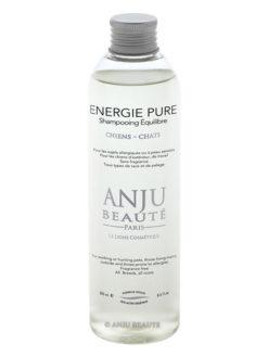 Flacone di Energie Pure, shampoo per pelli sensibili by Anju Beauté