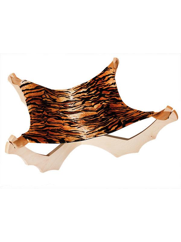 Amaca Pisolino con ecopelliccia tigre by Habicat