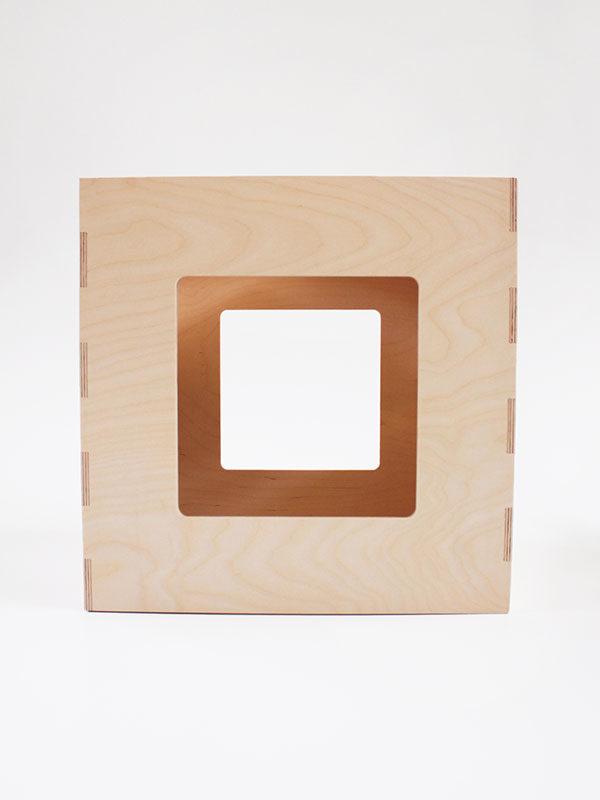 Cubo Maya vista laterale