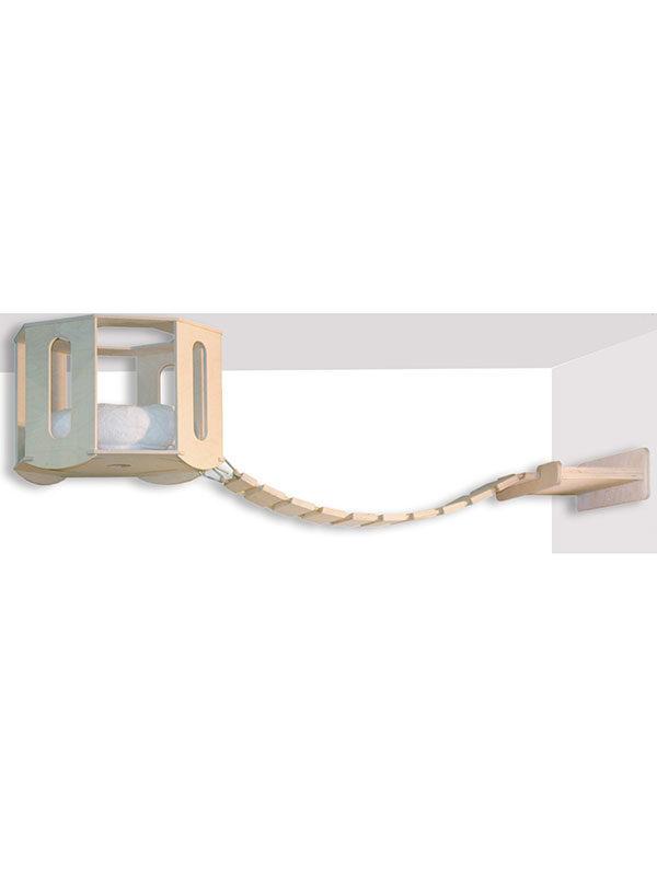 Rifugio da soffitto con ponte (kit 1 via) by Habicat
