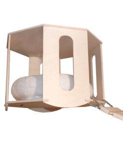 Rifugio da soffitto con cuccia morbida by Habicat