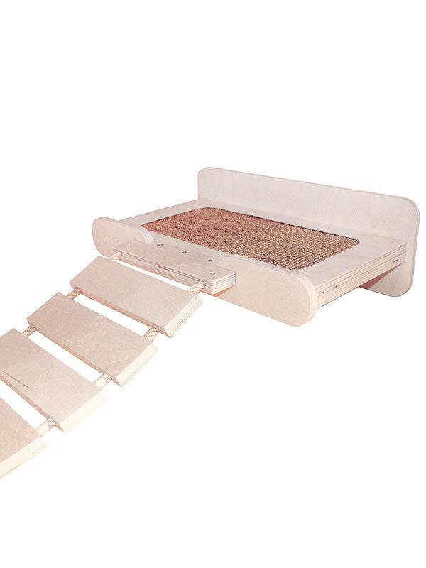 Mensola per ponte con cuccia by Habicat