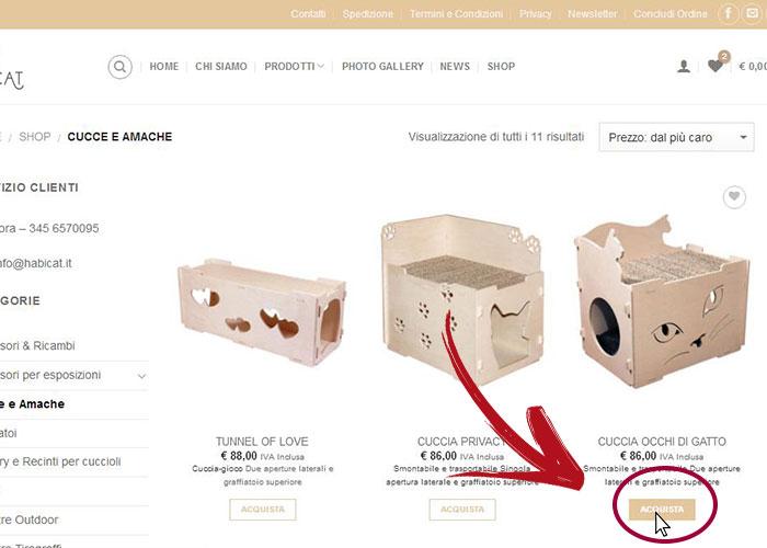 Ordine Online Acquisti shop