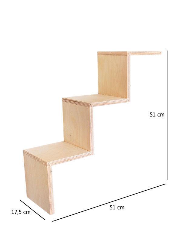 scaletta 3 gradini misure