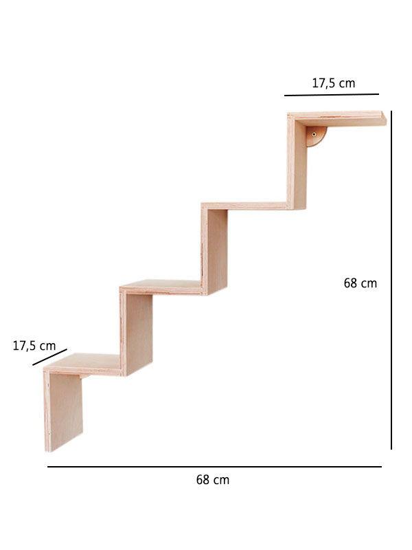 scaletta 4 gradini misure