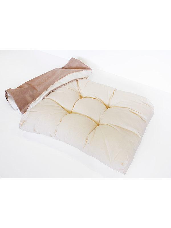 Cuscino Vanity bianco sfoderato